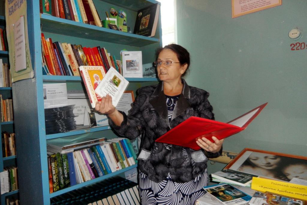 Открытие Центров духовной поддержки в четырех сельских библиотеках