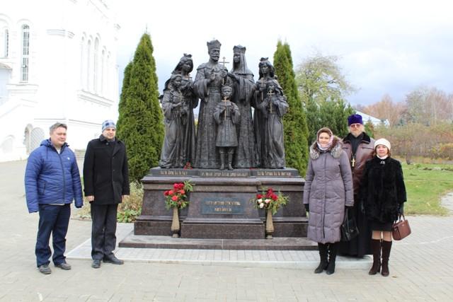 Белорусская делегация в Лукояновском благочинии