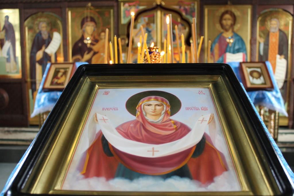 Праздник Покрова Пресвятой Богородицы в Лукоянове