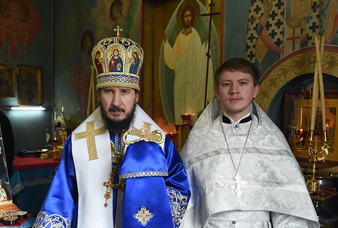 Новый священнослужитель в Покровском храме