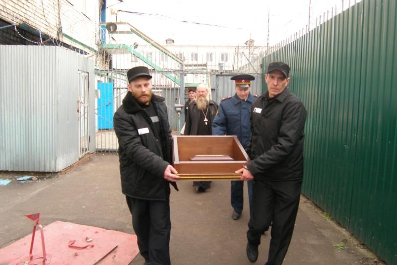 Ковчег с частицей мощей Иоанна Крестителя в ИК-20