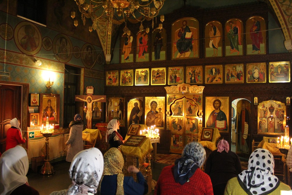 Новогодняя ночь в Покровском храме