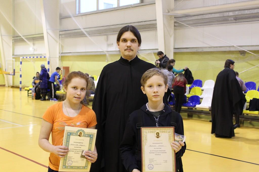Рождественский турнир по настольному теннису в городе Лысково