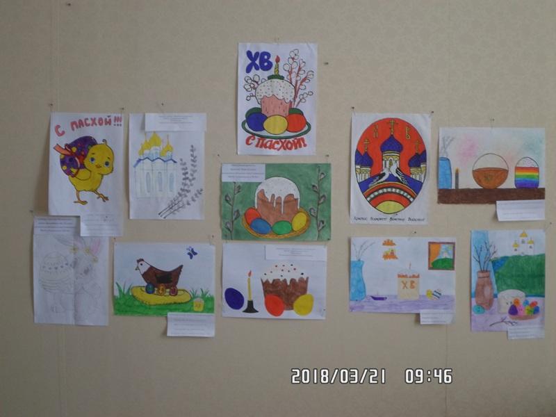 Пасхальная выставка в краеведческом музее