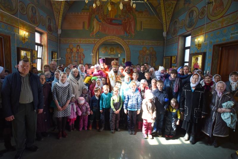 Визит епископа Силуана на Лукояновскую землю