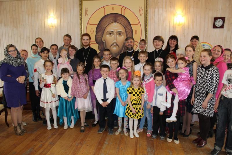 Праздник Жён-Мироносиц в воскресной школе