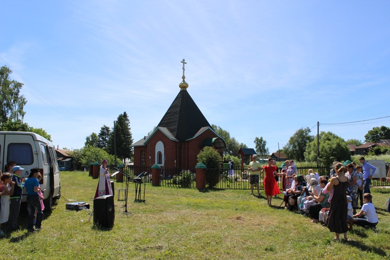 Престольный праздник в селе Крюковка