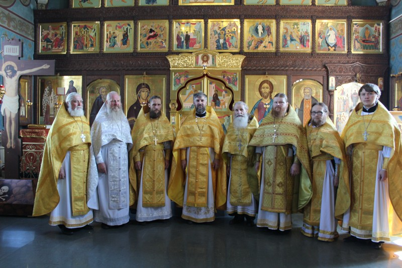 Соборное богослужение Лукояновского благочиния