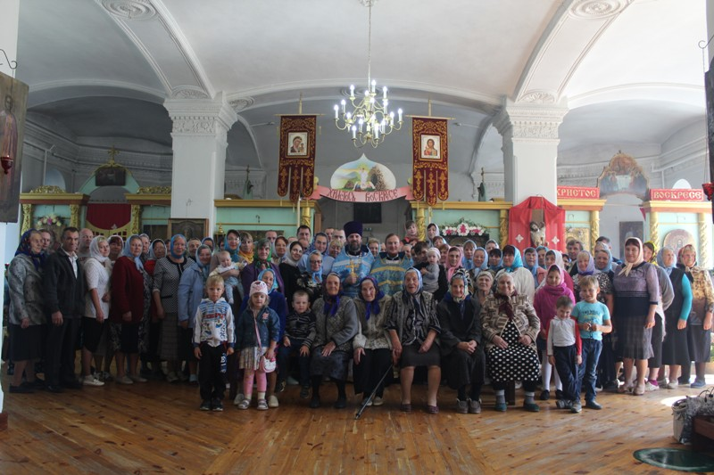 Престольный праздник в селе Ульяново