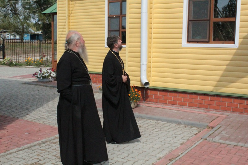 Рабочая поездка благочинного в село Николай Дар