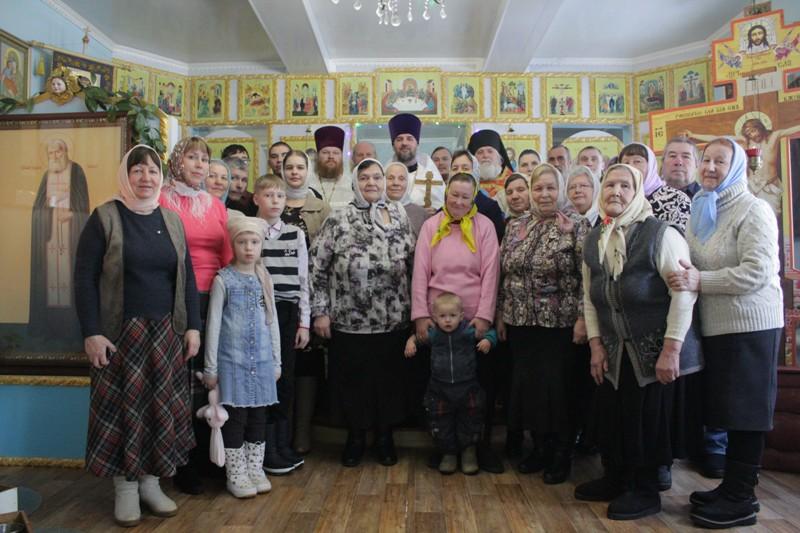 Престольный праздник в селе Иванцево