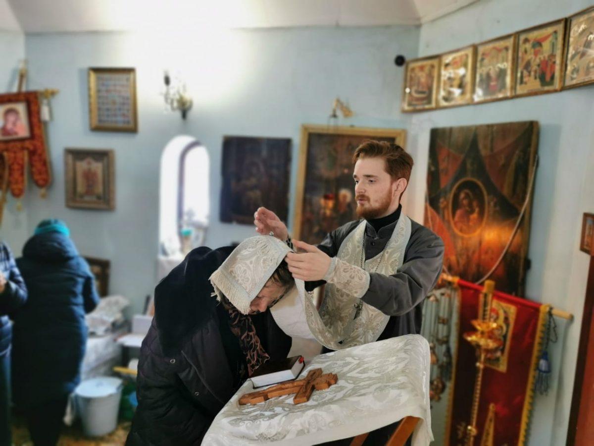 Богослужение в Крюковке