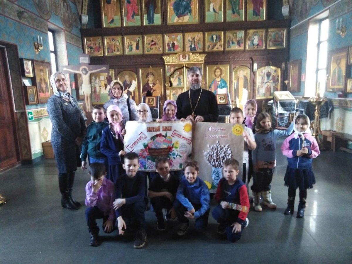 Экскурсия для учащихся в храме Покрова Пресвятой Богородицы