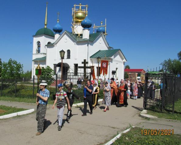 Царе-Никольский крестный ход в Лукоянове