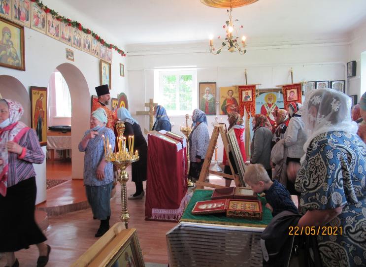 Престольный праздник села Шандрово